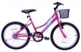 Bicicleta Mega Free Bike Feminina Aro 20