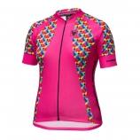 Blusa de Ciclismo Free Force Colorful