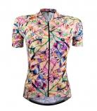 Camisa de Ciclismo Feminina Marcio May Funny Winter Flower