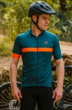Camisa de Ciclismo Masculina Free Force Sport Ribbon