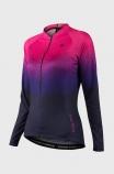 Camisa de Ciclsimo Feminina  Free Force Sport Speckle
